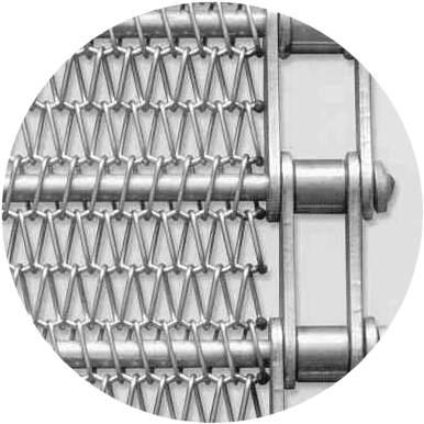 Conveyor Belts by Audubon, metal wire mesh conveyor belts
